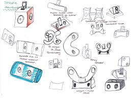 speakers initial sketch ideas