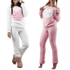 2017 flannel sleepwear coral fleece pajamas homewear