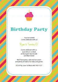 birthday invitation template 9 birthday invitation templates excel pdf formats