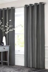Lined Cotton Curtains Curtains And Blinds Curtains Grey Lined Eyelet Next Usa