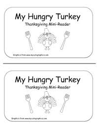 my hungry turkey thanksgiving emergent reader freebie by