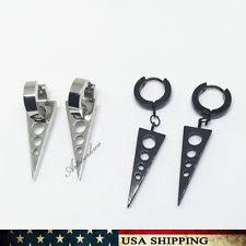 cool dangle earrings stainless steel drop dangle earrings studs for men ebay
