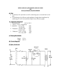 em lab ii manual transformer voltage