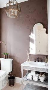 Shabby Chic Style Wallpaper by Farmhouse Powder Room Ideas Powder Room Shabby Chic Style With Vanity