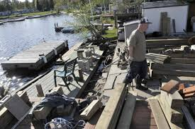 ontario cottage country cleans up after severe flooding the