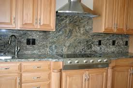 Kitchen Backsplash With Granite Countertops Granite Countertops - Granite tile backsplash ideas