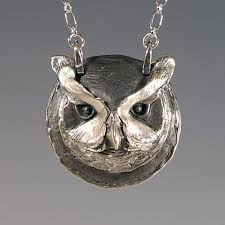 owl pendant necklace silver images 292 best totem jewelry images pendants animal jpg