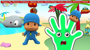 pocoyo halloween peppa pig pocoyo pokemon mickey mouse masha finger family