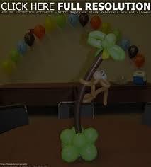 photo monkey baby shower cake image
