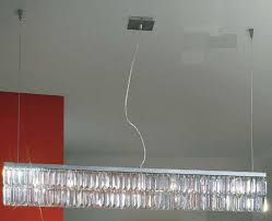 Prisma Lighting Kolarz Prisma Chrome 7 Light Crystal Linear Pendant 314 87 5
