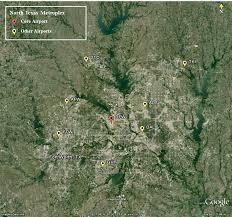 Dallas Fort Worth Airport Map by Nextgen U2013 Metroplex U2013 North Texas