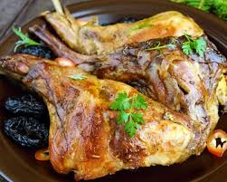 cuisiner un lapin recette lapin aux pruneaux et vin facile