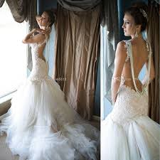 latest galia lahav 2015 lace wedding dresses with spaghetti