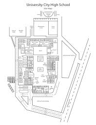 San Diego City College Campus Map by Site Map University City