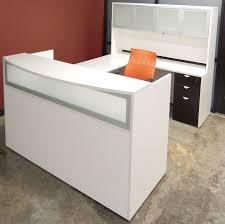 u shaped reception desk woodgrain u shaped reception desk