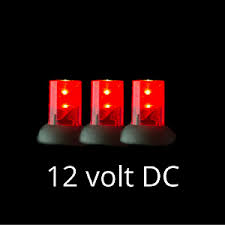 12 volt red led lights 12 volt led light set red on green wire