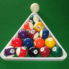 pool table accessories cheap 8 ball pool billiard table rack triangle rack fits standard 2 1 4