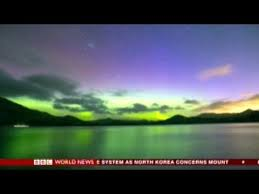 The Southern Lights New Zealand Treated To Spectacular View Of The Southern Lights