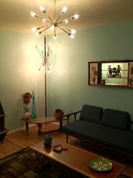 bedroom impressive diy sputnik light fixture mid century brass