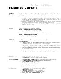 Resume Template Finance 4 Best Images Of Janitorial Resumes Already Prepared Sample