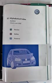 2006 volkswagen vw rabbit owners manual guide book bashful yak