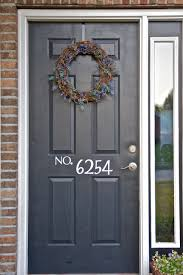 fantastic front door number r16 about remodel home decorating