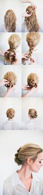 images of braids with french roll hairstyle 20 gorgeous 5 minute hairstyles to save you some snooze time diy