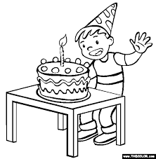 birthday coloring pages boy happy birthday coloring sheet manuals guide happy birthday
