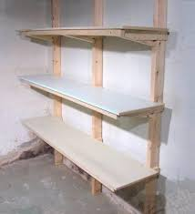 make wooden garage shelf quick woodworking projects garage