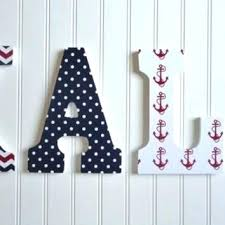 Nursery Wall Decor Letters Nursery Wooden Letters Wall Decor Letter Wall Wall Canvas