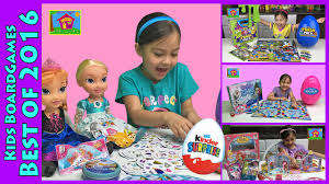 family fun games kids disney princess frozen playdoh kinder
