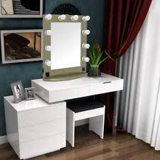 Vanity For Makeup With Lights Hollywood Tabletops Makeup Lighted Mirror Vanity With Dimmer 10