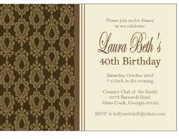 Dinner Party Invitations Damask Dinner Party Invitations And Place Cards Sweet Peach Paperie