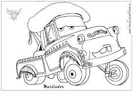 mater coloring pages funycoloring