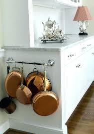 kitchen pan storage ideas hang pots and pans in small kitchen small kitchen pots and pans