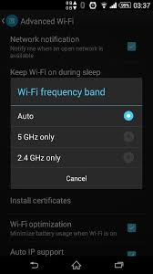 membuat jaringan wifi pada windows 8 solved xperia z2 wifi settings for 2 4ghz or 5ghz support forum