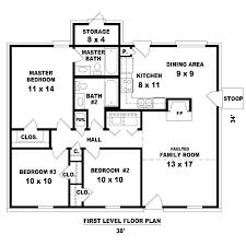 3 bedroom home floor plans modern 3 bedroom house plans siatista info