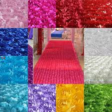 Multi Coloured Upholstery Fabric New 3d Flower Fabric Wedding Table Carpet Backdrop Cloth
