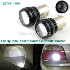 hyundai accent lights excellent ultrabright white 1156 ba15s 14w 2xcree r3 led