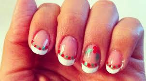 cute easy christmas nail designs easy toe nail designs how