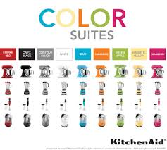 Kitchen Aid Colors by Kitchenaid Color Suites