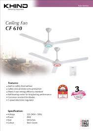 Ceiling Fan Features Khind Ceiling Fan Cf610 Twin Pack Ceiling Fan Fan Series