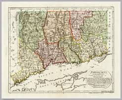 Connecticut New York Map by Connecticut