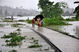 Resume Meaning In Telugu Train Services Disrupted Due To Flash Floods In Assam The New
