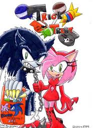 sonic and friends images sonic and amy halloween hd wallpaper and