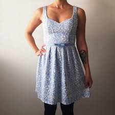 67 off candie u0027s dresses u0026 skirts candies light blue rose print