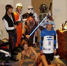Cheap Star Wars Halloween Costumes 36 Creative Group Halloween Costume Ideas