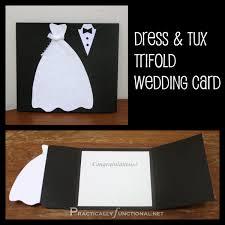 tri fold wedding invitation template diy wedding card dress tux trifold printable wedding card
