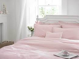 helena springfield pink spot lace edged bedding duvet cover