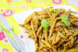cuisiner des haricots verts haricots verts sautés à l ail recette facile aux delices du palais